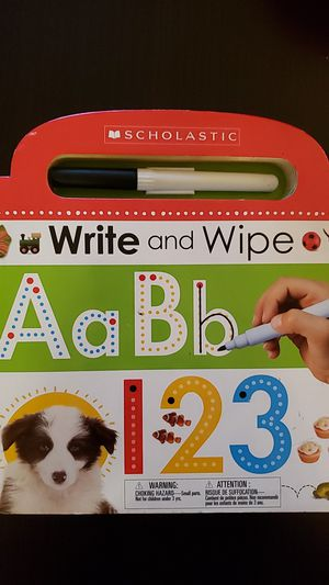 Scholastic Write n Wipe ABC 123 for Sale in Little Chute, WI