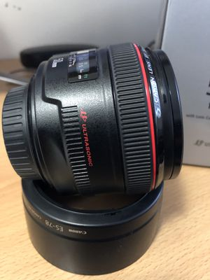 Canon 50mm f/1.2L USM for Sale in Long Beach, CA