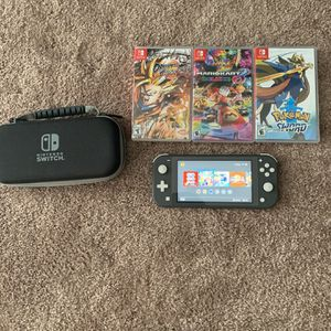 Nintendo Switch Lite W/ 4 Games And More for Sale in Spartanburg, SC