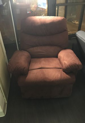 ACME Arcadia Chocolate Microfiber Recliner for Sale in Chicago, IL