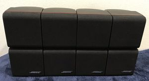 BOSE Red Line Double Cube Swivel Speakers for Sale in Los Angeles, CA