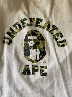 Bape x Undefeated Tee XL READ DESCRIPTION for Sale in Los Angeles, CA