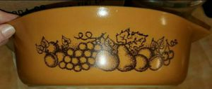 """Vintage PYREX. """"Old Orchard"""" Released In 1974• Oval Shaped, 2 1/2 Quart W/ Original Lid▪︎No Cracks, Chips or Stains for Sale in Fort Lewis, WA"""
