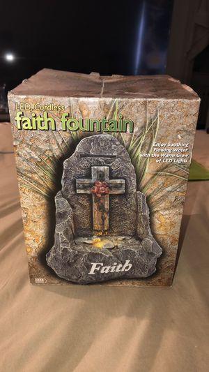 LED Faith Fountain for Sale in Columbus, OH