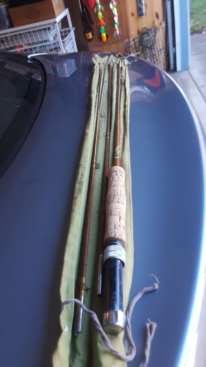 Fishing bamboo fly rod for Sale in Vancouver, WA