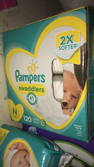 Newborn Pampers 120 count for Sale in Phoenix, AZ