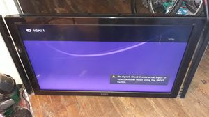 Sony TV 55 inch works like new no remote for sale for Sale in Trenton, NJ