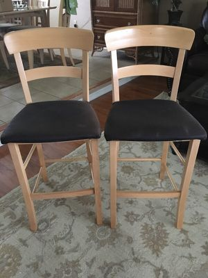 Two bar stools for Sale in Tampa, FL