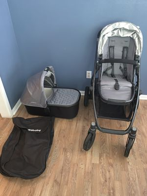 Uppababy Vista travel set for Sale in Houston, TX