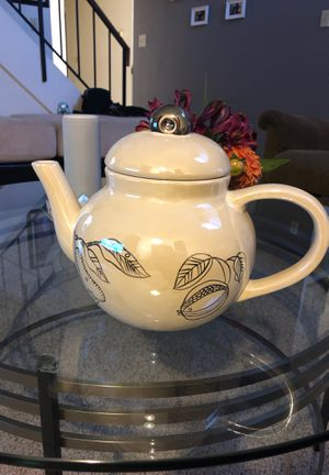 Teapot shaped cookie jar for Sale in Fremont, CA