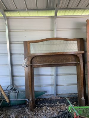 Antique Oak Mantel for Sale in Holladay, UT