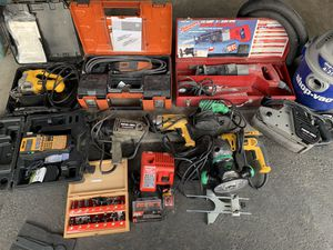 Various power tools for Sale in Broomfield, CO