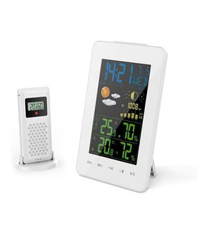 Radio-controlled weather station with forecast for Sale in Moreno Valley, CA