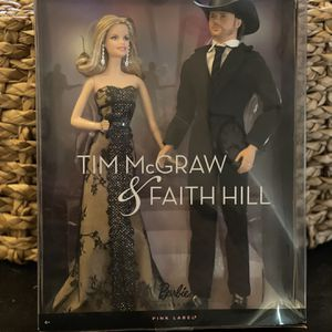 Tim McGraw & Faith Hill Ken & Barbie Set. NRFB. Pink Label.2011. Mint for Sale in Santee, CA
