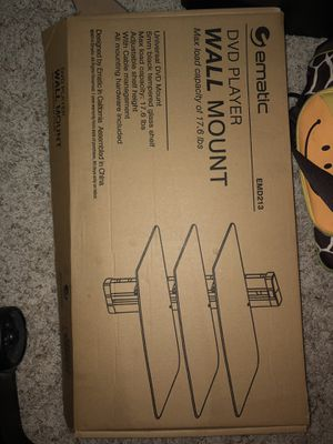 DVD wall player mount for Sale in Rancho Cucamonga, CA