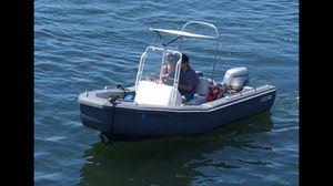 Bull frog aluminum boat! tender/ lightweight/ fast for Sale in Braintree, MA