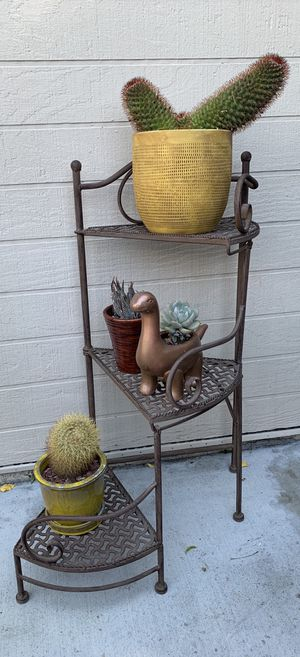 3 Tier Metal Folding Plant Stand for Sale in Anaheim, CA