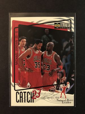 Michael Jordan 1997 Upper Deck Basketball Card #195. Air Jordan Chicago Bulls Basketball Trading Card. Buy 20 Cards, Get 20% OFF. for Sale in Chicago, IL