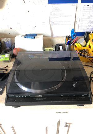 Onkyo direct drive fully automatic turntable R1 for Sale in Vero Beach, FL