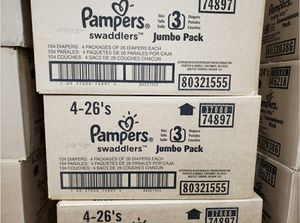 Pampers Size 3 for Sale in Las Vegas, NV