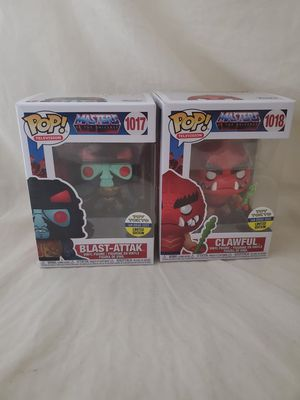 Funko Pop 2020 SDCC Exclusive blast attak & clawful Masters of the Universe MOTU Toy Tokyo for Sale in Los Angeles, CA