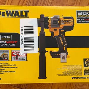 DEWALT FLEXVOLT ADVANTAGE 20V MAX Hammer Drill, Cordless, 1/2-Inch, Tool Only (DCD999B) for Sale in Philadelphia, PA
