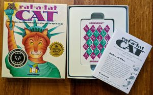Game, cards, best toy, kids, Rat-a-tat cat for Sale in Kirkland, WA