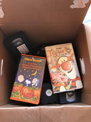 Children's movies VHS for Sale in Visalia, CA