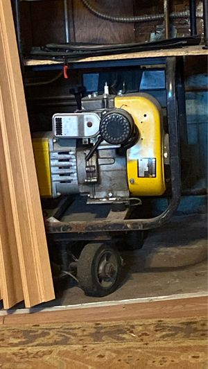 Generator with cart for Sale in Warren, MI