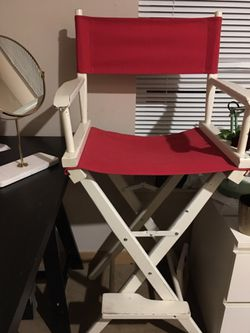 Tall directors chair for Sale in Seattle,  WA