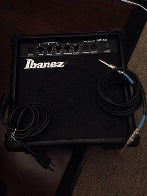 Ibanez bass amplifier IBZ15B for Sale in Pawtucket, RI