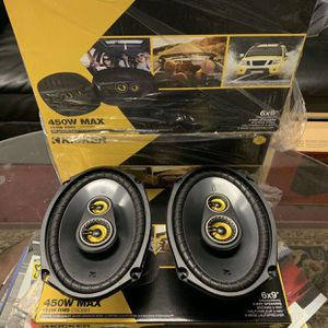 Kicker Car Audio 6x9 Car Stereo Speakers . 400 watts . New Years Super Sale . 2 Sets For $150 While They Last . New for Sale in Mesa, AZ