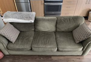 Couch / Sofa (Olive Green) for Sale in Seattle, WA