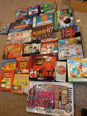 New board games and assorted toys for Sale in North Providence, RI
