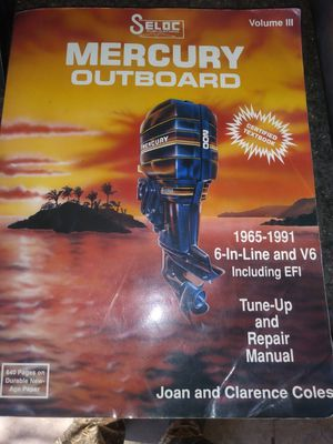 Mercury outboard manual 1965-1991 for Sale in Hesperia, CA