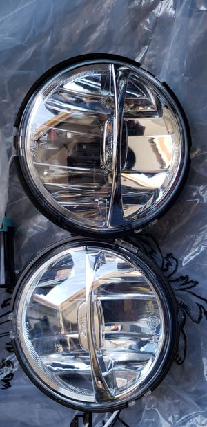 2014_2020 Indian motorcycle led fog lights upgrade for Sale in Huntington Beach, CA