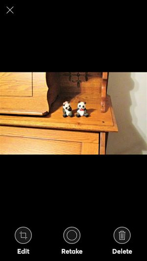 Avon Pair Porcelain Panda Bears for Sale in Lynchburg, VA