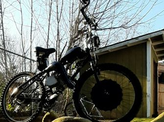 Hybrid Electric And Gas Motorized Bike for Sale in Kent,  WA