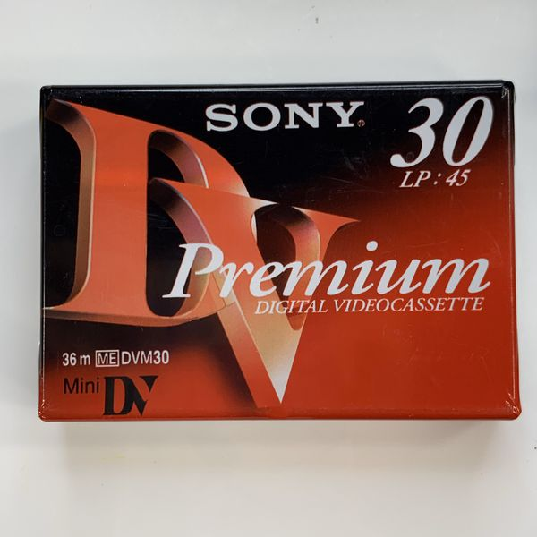 Mini DV Cassette Lot of 12 Sony Premium & Panasonic NEW Sealed