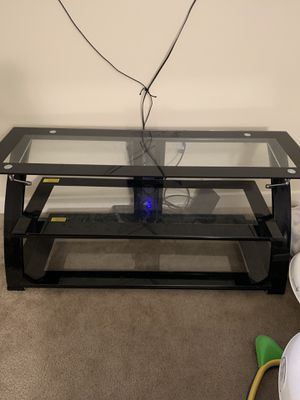 Glass Tv Stand for Sale in Virginia Beach, VA