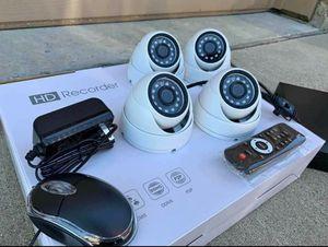 4 x Security Cameras-Se Habla Espanol for Sale in Dallas, TX
