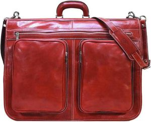 FLOTO Italian leather garment bag for Sale in Los Angeles, CA