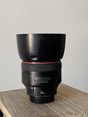 Canon 85mm F1.2 L II Prime Lens for Sale in Los Angeles, CA