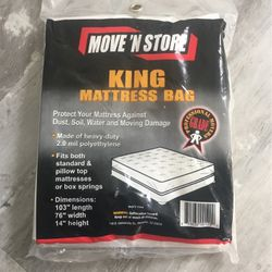 Mattress Bag - King for Sale in Melrose Park,  IL