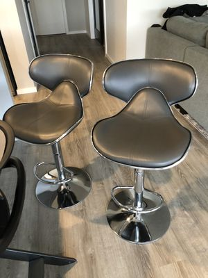 Bar stools (used for 1 year) for Sale in Black Diamond, WA