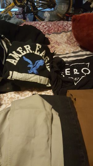 Use boys clothes small med and pant size 30x30 for Sale in Avondale, AZ