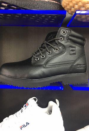 Fila work boot steel toe and waterproof +10%off for Sale in Miami, FL