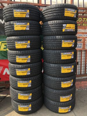 !!!SPECIAL OF NEW TIRES LAND GOLDEN 225/45ZR18!!! for Sale in Lynwood, CA