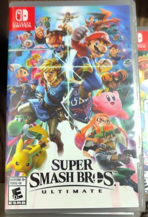 Nintendo switch Super Smash Brothers brand new sealed for Sale in Paramount, CA