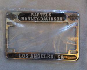 BARTELS HARLEY DAVIDSON LICENSE PLATE FRAME for Sale in Marina del Rey, CA